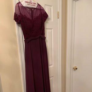 Bridesmaid dress (floor length)